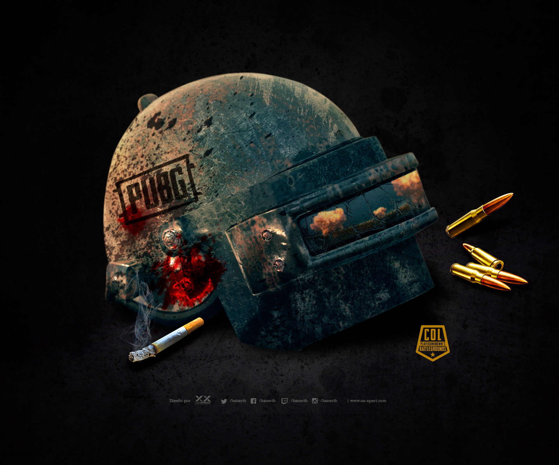 Wallpaper PUBG Colombia Scrims 2018